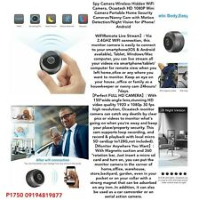 Spy Camera Wireless Hidden WiFi Camera