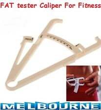 BODY FAT MEASUREMENT TESTING CALIPER SKINFOLD SKIN FOLD TEST WEIGHT LOSS FITNESS