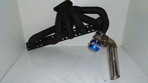 BMW E30 M50 Top mount turbo manifold for borg warner s200sxe s257 s256