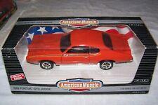 """ERTL 1/18 Scale American Muscle 1969 Pontiac GTO """"Judge"""" Die Cast"""