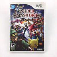 Super Smash Bros. Brawl for Wii - COMPLETE - Tested (Nintendo Wii, 2008) Wii U