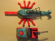Spiderman VINTAGE 1979 Jeep/Copter Lot of 4+ Parts Corgi Die-Cast METAL Marvel!!