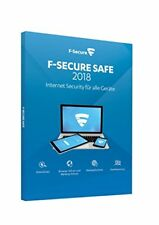 F-Secure Safe Internet Security 2018 - 1 Jahr / 5 Geräte