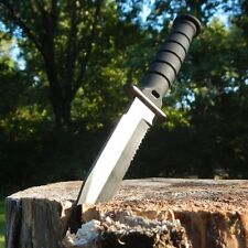 """6"""" Tactical Combat Neck Knife Survival Hunting Military Dagger Bowie Fixed Blade"""