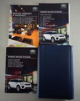 Bordmappe + Betriebsanleitung | Owner's manual + wallet Range Rover Evoque 2015