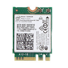 Intel 7265NGW 7265 Dual Band Wireless-AC 802.11ac 867Mbps Wifi BT 4.0 NGFF Card