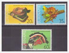 Surinam / Suriname 1979 Native Indian art MNH