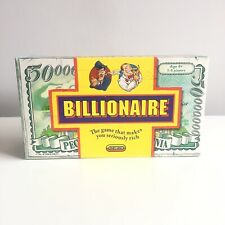 RARE Spears Mattel BILLIONAIRE Card Board Game Fully Checked & Complete Vintage
