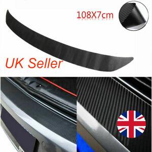 Car Trunk Bumper Rubber Guard Body Protector Trim Cover Protective Strip Black^
