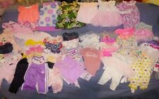 Spring Summer Baby Girls Clothing Lot 3 To 6 Mo Mixed Lot Of 54 pc