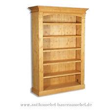 Bücherregal,Bibliothek,Holzregal,Regal,Regalwand,Massivholz,Gründerzeit