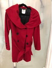 Bebe Red Coat Size XS