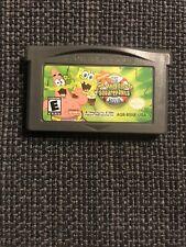 Gameboy Advance Game  GBA SP DS DSL ~  SPONGEBOB SQUAREPANTS MOVIE ~ Super Fun