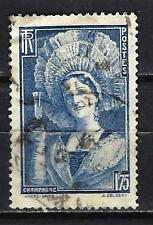 France 1938 champenoise Yvert n° 388 oblitéré 1er choix (3)