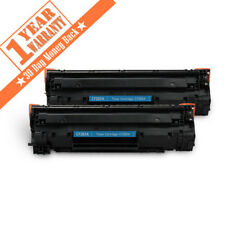 2PK CF283A 83A Black Laser Toner cartridge for HP LaserJet Pro MFP M127fw M127fn