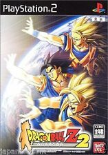 Used PS2 Dragon Ball Z: Budokai 2 SONY PLAYSTATION JAPAN IMPORT