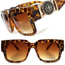 Retro Designer Look Rich Famous Millionaire Hip Hop Swag Tortoise Sunglasses B67
