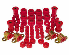 PROTHANE 1980-1986 Jeep CJ5 & CJ7 TOTAL Complete Suspension Bushing Kit (RED)