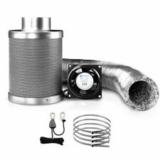 Greenfingers Ventilation Fan and Active Carbon Filter Ducting Kit - GT-KIT-VENT-6IN