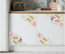 DIY Peony Flowers Vinyl Art Removable Wall Decal Sticker Mural Home Room Decor J