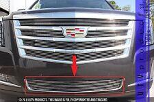 GTG 2015 - 2018 Cadillac Escalade 1PC Polished Overlay Bumper Billet Grille