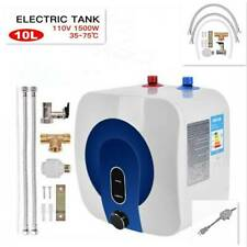 35℃-75℃ 110V 10L Electric Tankless Hot Water Heater Home Kitchen Bathroom NEW
