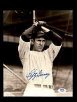 Lefty Gomez PSA DNA Coa Signed 8x10 Photo Yankees Autograph