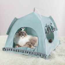 Small Dogs Bed Nest Warm Comfortable House Beds Pet Cats Tent Soft Cushion Mats