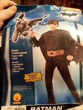 Rubies The Dark Knight Batman kids costume Size Med 8 10