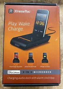 XtremeMac 3 IN 1 MICRODOCK Made for iPod/iPhone NEW IN BOX