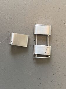 x1 Rolex Link 20mm Riveted Bracelet C&I USA - Not Swiss 7206 - Fit Parts / As Is
