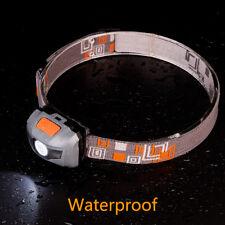 Ultra Mini Headlight CREE R3 +2 LED Flashlight 500LM Headlamp Head Torch Lamp