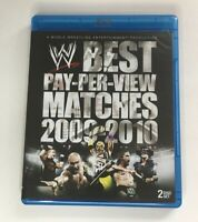 WWE: The Best PPV Matches of Year 2009-10 (Blu-ray Disc, 2010, 2-Disc Set)