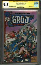 * GROO #8 (1984) CGC 9.8 Signed Sergio Aragones (1580630003) *