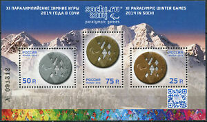 Russia 2014 - Opening of the Paralympic Winter Games, Sochi - S/S MNH **