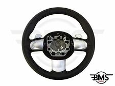 BMW MINI One / Cooper / S / D 3-Spoke Automatic Leather Steering Wheel R55 R56