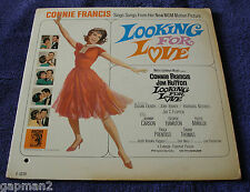 Connie Francis 1964 MGM Mono Soundtrack  LP Looking For Love