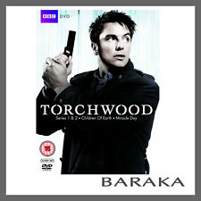 Torchwood Series Season 1, 2, 3 & 4 DVD Box Set R4 Children of Earth Miracle Day