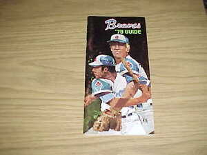 1973 Atlanta Braves Baseball Media Guide
