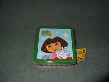 2003 Carlton Cards Dora the Explorer and Friends 3 Piece Ornaments Set Christmas