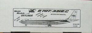 Welsh Models 1/144 TWA Boeing 707-331B/C (Qantas)