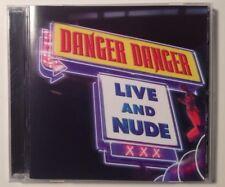 "Danger Danger ""Live And Nude"", Cd, Rare, Oop"