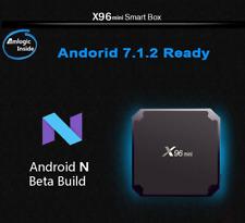 X96 mini 4K S905W Quad Core CPU Android 7.1 TV BOX 2.4GHz WiFi HD Media 2GB+16GB