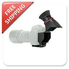 "KAMERAR QV-1 LCD Viewfinder Loupe Magnifying for Universal 3""-3.2"" Screen DSLR"