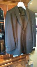 Van Heusen Black Pin stripe Suit Jacket and 2 Pairs of Trousers pants set