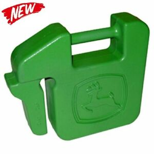 John Deere Quick-Tatch UC13263 42lb Suitcase Weight - Green