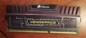 Corsair CMZ8GX3M1A1600C10 Vengeance 8GB 1x8GB DDR3 1600 MHz PC3 12800 Desktop...