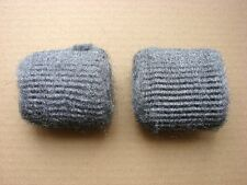 Multi Purpose Medium Grade Steel Wire Wool Pads x 2 for Sanding/Cleaning