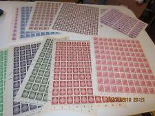 Bogenposten DDR Dienst und Fünfjahrplan **/o meist postfrisch