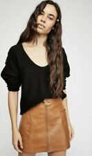 089fd7373 Free People Women's High a Vegan Leather Skirt Copper NWT Size 12